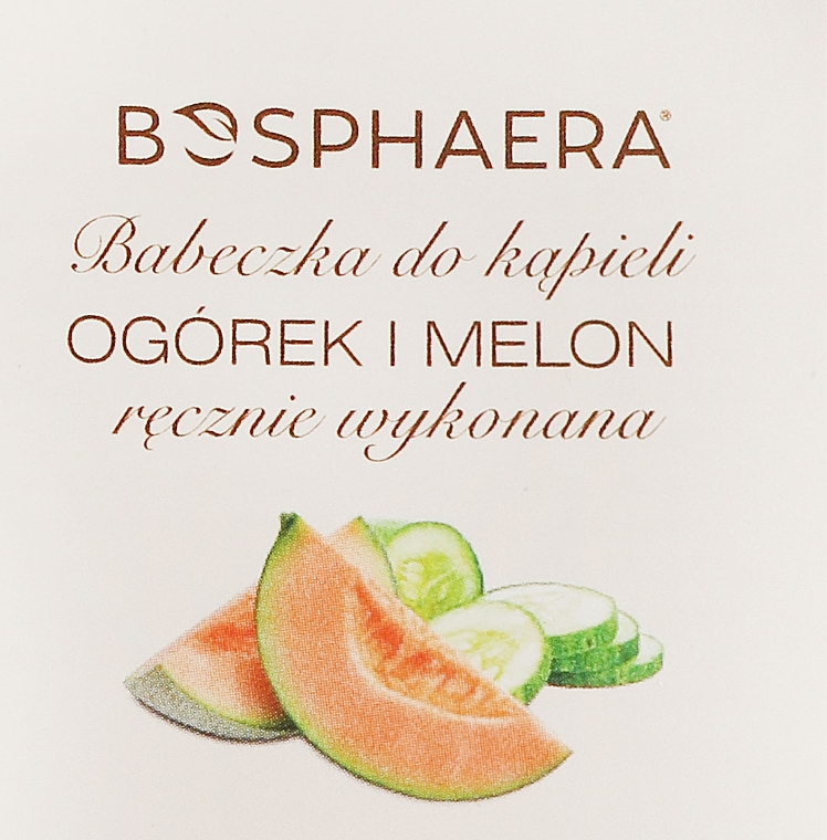 Badebombe Gurke mit Melone - Bosphaera