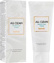 Düfte, Parfümerie und Kosmetik Reinigungsschaum für das Gesicht mit weißer Tonerde - Heimish All Clean White Clay Foam