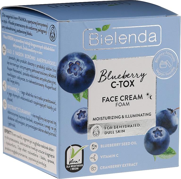Feuchtigkeitsspendende Gesichtscreme mit Blaubeere - Bielenda Blueberry C-Tox Face Cream