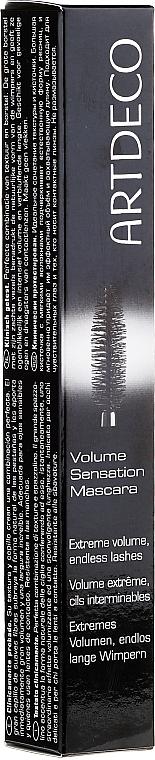 Wimperntusche für mehr Volumen - Artdeco Volume Sensation Mascara
