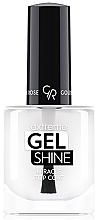 Düfte, Parfümerie und Kosmetik Hochglänzender Nagelüberlack mit Gel-Effekt - Golden Rose Extreme Gel Shine Miracle Top Coat