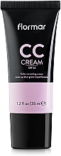 Düfte, Parfümerie und Kosmetik CC Creme gegen dunkle Augenringe LSF 15 - Flormar CC Cream Anti-Dark Circles