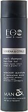 """Düfte, Parfümerie und Kosmetik Anti-Schuppen Shampoo Verbenen und Zitrus - ECO Laboratorie Man's Shampoo from hair loss """"Verbena & Citrus"""""""