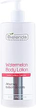 Düfte, Parfümerie und Kosmetik Körperbalsam mit Wassermelonenextrakt und Cellulite Contra+ Komplex - Bielenda Professional Body Program Watermelon Body Lotion