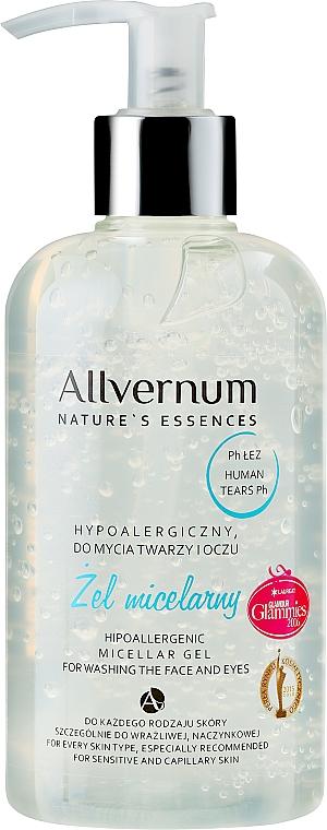 Hypoallergenes Mizellengel für Gesicht und Augen - Allvernum Nature's Essences Micellar Gel