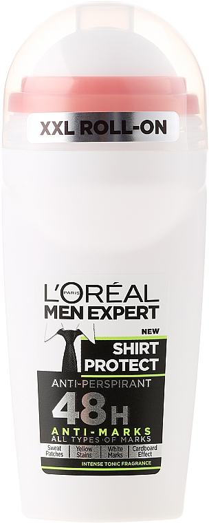 Deo Roll-on Antitranspirant - L'Oreal Paris Men Expert Shirt Protect Anti-Peraperant — Bild N1