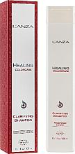 Düfte, Parfümerie und Kosmetik Reinigungsshampoo für coloriertes Haar - L'Anza Healing ColorCare Clarifying Shampoo