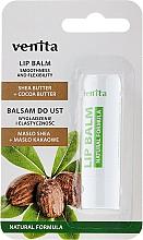 Düfte, Parfümerie und Kosmetik Lippenbalsam mit Sheabutter und Kokosbutter - Venita Lip Balm Shea Butter + Cocoa Butter