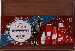 Düfte, Parfümerie und Kosmetik Körperpflegeset - Old Spice Whitewater Wooden (Deostick 50g + Duschgel 250ml + After Shave Lotion 100ml + Deospray 150ml)