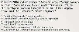 Tiefenreinigende Seife mit Olive, Teebaum und Eukalyptus - Bentley Organic Body Care Deep Cleansing Soap Bar — Bild N4
