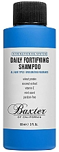 Düfte, Parfümerie und Kosmetik Stärkendes Shampoo für tägliche Anwendung mit Vitamin E, Weizenprotein und Kokosnussextrakt für alle Haartypen - Baxter of California Daily Fortifying Shampoo
