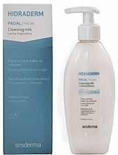 Gesichtsreinigungsmilch zum Abschminken - SesDerma Laboratories Hidraderm Cleansing Milk — Bild N1