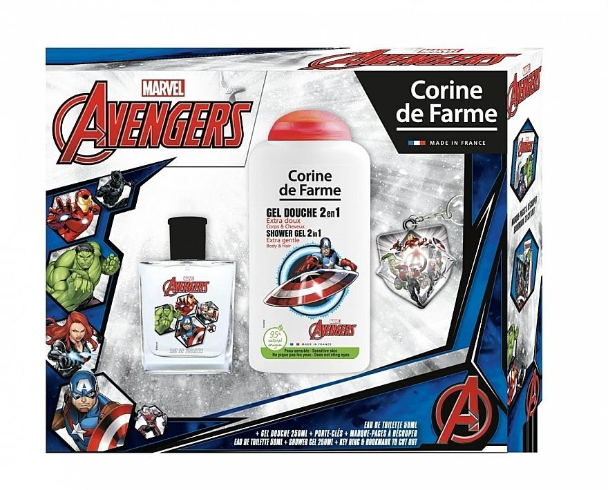 Marvel The Avengers - Duftset für Kinder (Eau de Toilette 50ml + Duschgel 250ml)