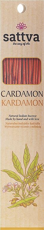 Räucherstäbchen Kardamon - Sattva Kardamon Incense Sticks