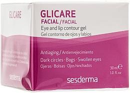Düfte, Parfümerie und Kosmetik Anti-Aging Augen- und Lippenkonturgel - SesDerma Laboratories Glycare Eye and Lip Contour Gel