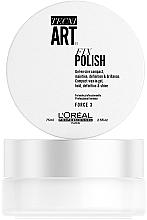 Düfte, Parfümerie und Kosmetik Kompaktes Gel-in-Wax Mittlerer Halt - L'Oreal Professionnel Tecni.Art Fix Polish Gel-Wax