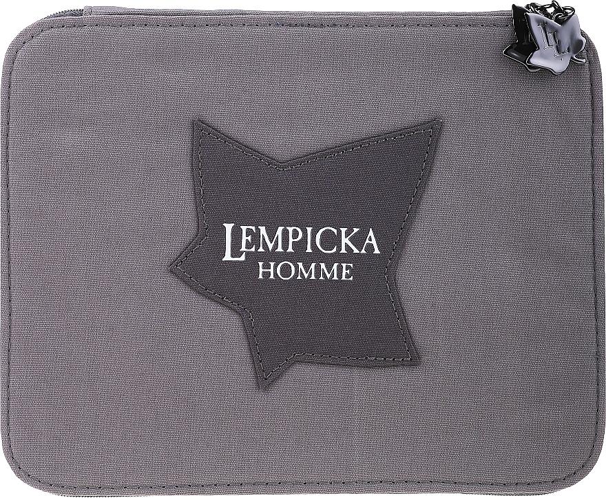 Lolita Lempicka Homme - Duftset (Eau de Toilette 100ml + After Shave Gel 75ml + Kosmetiktasche) — Bild N1