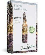 Düfte, Parfümerie und Kosmetik Aktivierende Gesichtsampullen - Dr. Spiller Wake-up Call Fresh Morning