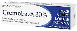 Düfte, Parfümerie und Kosmetik Aufweichende und feuchtigkeitsspendende Creme mit 30% Harnstoff für rissige, schwielige und trockene Hände, Füße, Ellbogen und Knie - Farmapol Cremobaza 30%