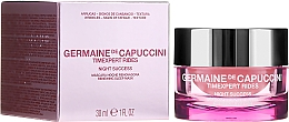 Düfte, Parfümerie und Kosmetik Regenerierende Gesichtsmaske für die Nacht mit Peelingeffekt - Germaine de Capuccini Timexpert Rides Night Success