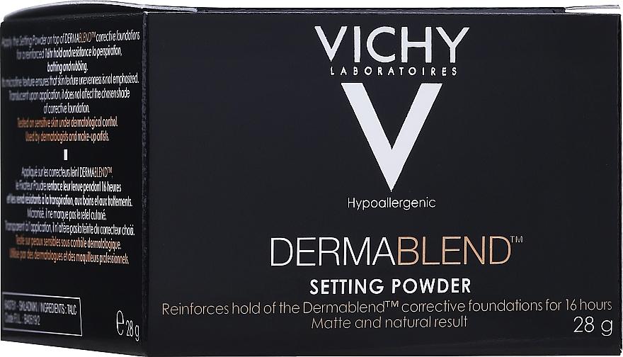 Fixierpuder - Vichy Dermablend Setting Powder — Bild N2