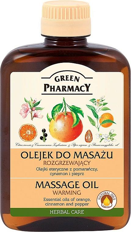 Wärmendes Massageöl - Green Pharmacy Massage oil