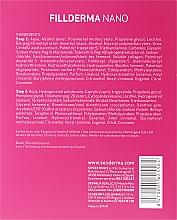 Anti-Falten Gesichtsbehandlung mit Hyaluronsäure in 2 Schritten - SesDerma Laboratories Fillderma nano Wrinkle Filling System — Bild N3