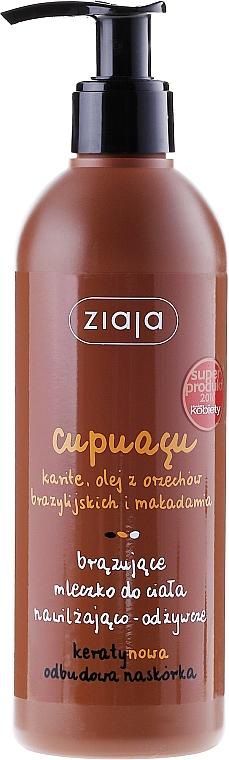 Feuchtigkeitsspendende bronzierende Körpermilch - Ziaja Bronzing Body Milk