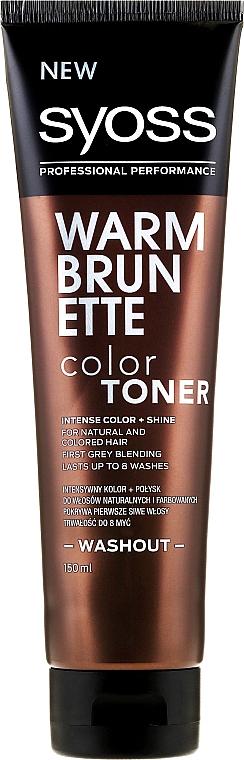 Temporäre Haarfarbe für natürliches und coloriertes Haar - Syoss Washout
