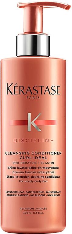 Haarspülung für widerspenstiges und lockiges Haar - Kerastase Discipline Cleansing Conditioner Curl Ideal — Bild N1