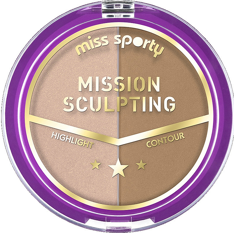 Konturierpalette - Miss Sporty Mission Sculpting