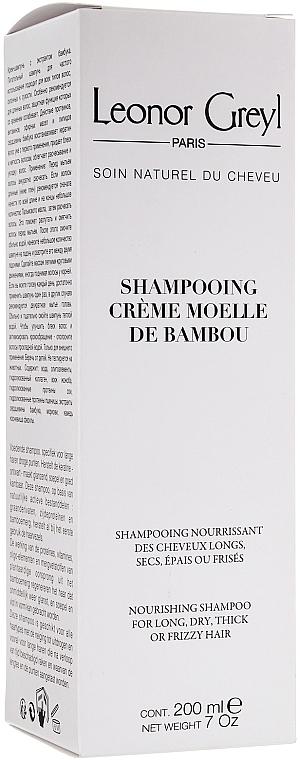 Nährendes Shampoo für trockenes Haar - Leonor Greyl Shampooing Creme Moelle de Bambou