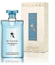 Düfte, Parfümerie und Kosmetik Bvlgari Eau Parfumee au The Bleu - 2in1 Parfümiertes Shampoo und Duschgel