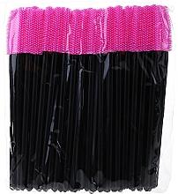 Düfte, Parfümerie und Kosmetik Wimpernbürste aus Silikon rosa-schwarz - Novalia Group