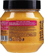 Glättendes Körperpeeling mit Ananas - MonoLove Bio Pineapple-Jamaica Tonus & Smoothness Scrub — Bild N2