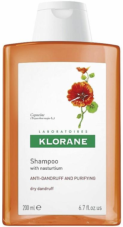Anti-Schuppen Shampoo mit Kapuzinerkresse - Klorane Shampoo With Nasturtium Extract