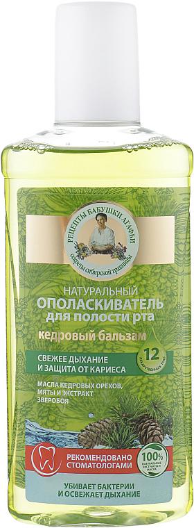 Natürliche Anti-Karies Mundspülung für frischen Atem - Rezepte der Oma Agafja