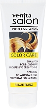Düfte, Parfümerie und Kosmetik Aufhellendes Shampoo für blondes Haar - Venita Salon Professional Brightening Shampoo
