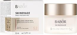 Düfte, Parfümerie und Kosmetik Reichhaltige Gesichtspflegecreme zur Vitalisierung müder Haut - Babor Skinovage Vitalizing Cream Rich