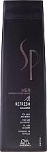 Düfte, Parfümerie und Kosmetik Erfrischendes Männershampoo - Wella Wella SP Men Refresh Shampoo