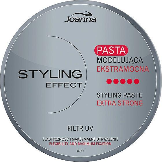 Modellierende Haarpaste Extra starker Halt - Joanna Styling Effect Styling Paste Extra Strong