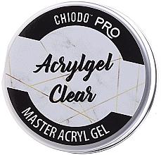 Düfte, Parfümerie und Kosmetik UV/LED Aufbaugel transparent - Chiodo Pro Acryl Gel Clear Gel