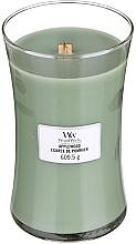 Düfte, Parfümerie und Kosmetik Duftkerze im Glas Applewood - WoodWick Hourglass Candle Applewood