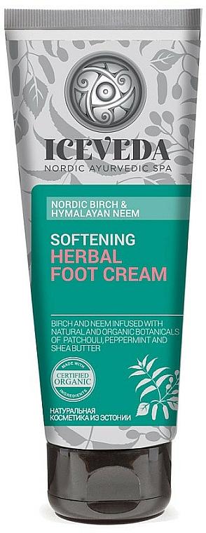 Fußcreme - Natura Siberica Iceveda Nordic Birch&Hymalayan Neem Softening Herbal Foot Cream — Bild N1