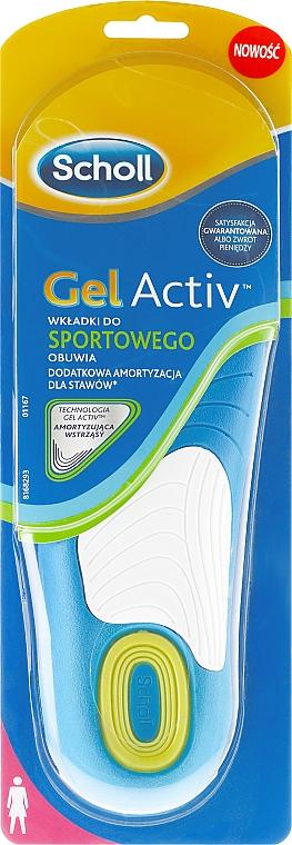 Gel-Einlegesohlen für Sportschuhe - Scholl Gel Activ Insole Sport Woman — Bild N2