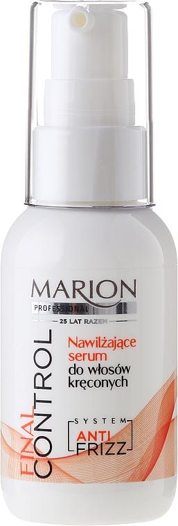 Feuchtigkeitsspendendes Serum für lockiges Haar - Marion Professional Final Control