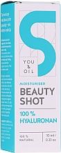 Düfte, Parfümerie und Kosmetik Feuchtigkeitsspendendes Gesichtsserum mit Hyaluronsäure - You and Oil Beauty Shot Hyaluronic Acid