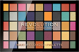Düfte, Parfümerie und Kosmetik Lidschattenpalette mit 45 Farben - Makeup Revolution Maxi Reloaded Palette