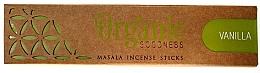Düfte, Parfümerie und Kosmetik Räucherstäbchen Vanilla - Song Of India Organic Goodness Vanilla