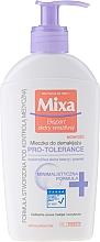 Düfte, Parfümerie und Kosmetik Gesichtsreinigungsmilch zum Abschminken - Mixa Pro-Tolerance Cleansing Milk